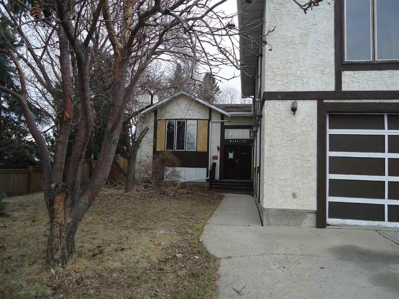 Main Photo: 8116 29 Avenue in Edmonton: Zone 29 House for sale : MLS®# E4241573