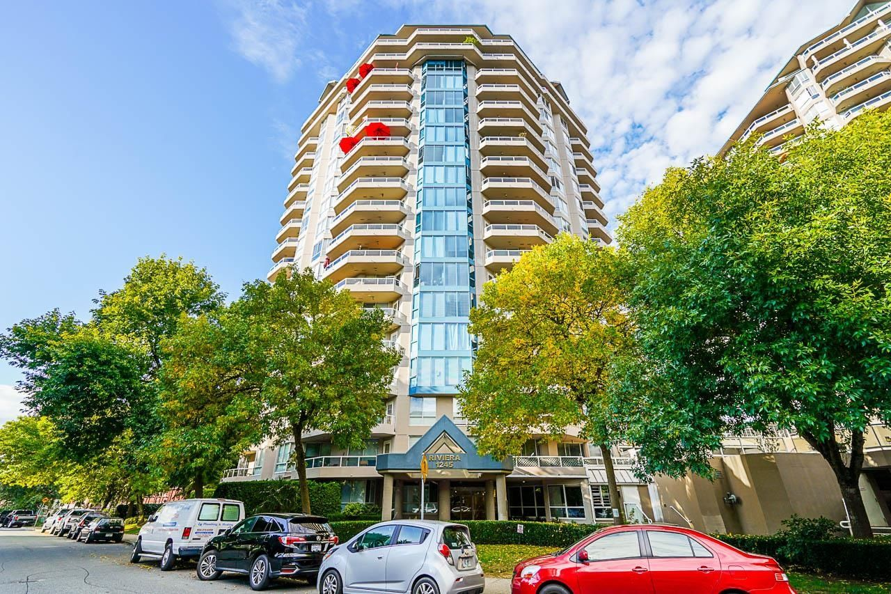 """Main Photo: 1205 1245 QUAYSIDE Drive in New Westminster: Quay Condo for sale in """"Riveria"""" : MLS®# R2617144"""