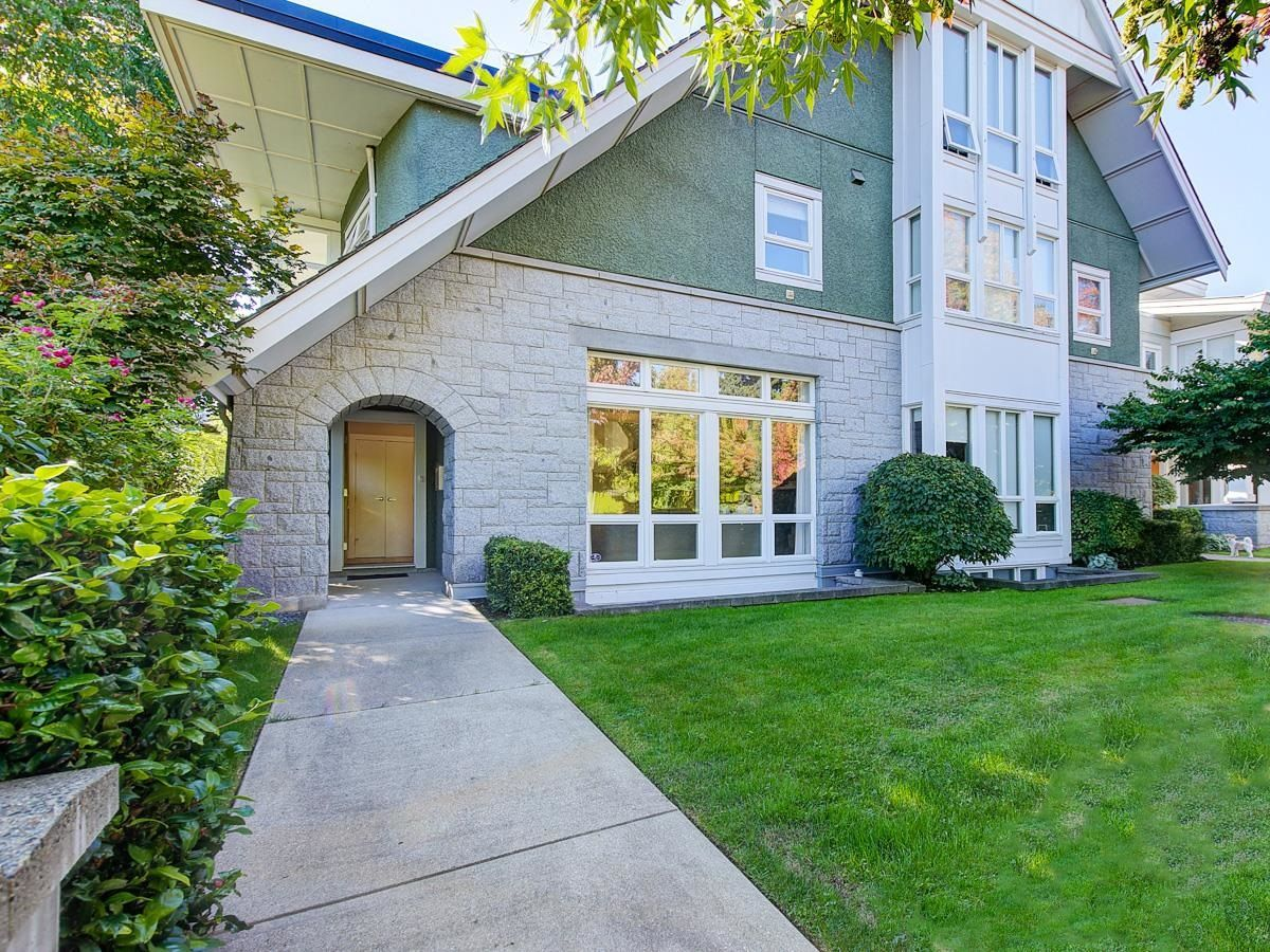 """Main Photo: 6002 CHANCELLOR Boulevard in Vancouver: University VW Townhouse for sale in """"Chancellor Row"""" (Vancouver West)  : MLS®# R2616933"""