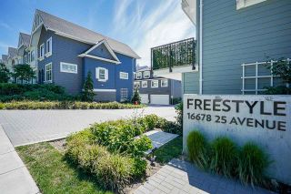 """Photo 2: 69 16678 25 Avenue in White Rock: Grandview Surrey Townhouse for sale in """"FREESTYLE by Dawson +Sawyer"""" (South Surrey White Rock)  : MLS®# R2598061"""