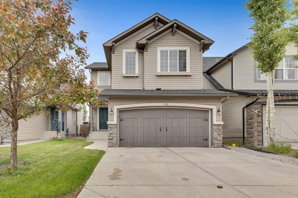 Main Photo: 206 New Brighton Mews SE in Calgary: New Brighton Detached for sale : MLS®# A1118234