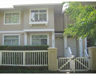 """Photo 1: 3 3576 MARINE Drive in Vancouver: Champlain Heights Townhouse for sale in """"THE SIERRA"""" (Vancouver East)  : MLS®# V782913"""