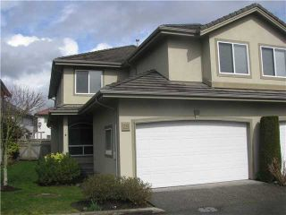 """Photo 1: 25 998 RIVERSIDE Drive in Port Coquitlam: Riverwood Townhouse for sale in """"PARKSIDE PLACE"""" : MLS®# V938950"""