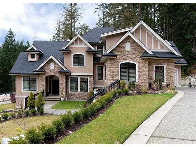 Photo 1: Photos: 1471 CRYSTAL CREEK DRIVE: Anmore House for sale (Port Moody)  : MLS®# V1140761