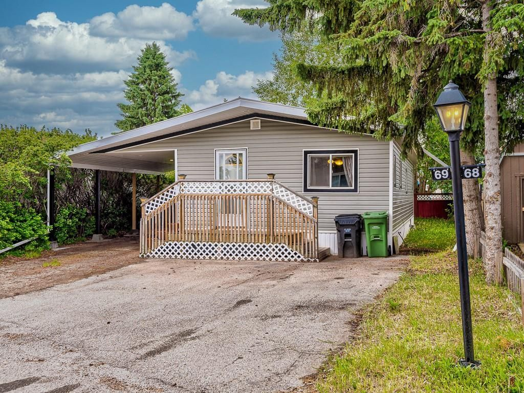 Main Photo: 69 3223 83 Street NW in Calgary: Greenwood/Greenbriar Mobile for sale : MLS®# A1133242