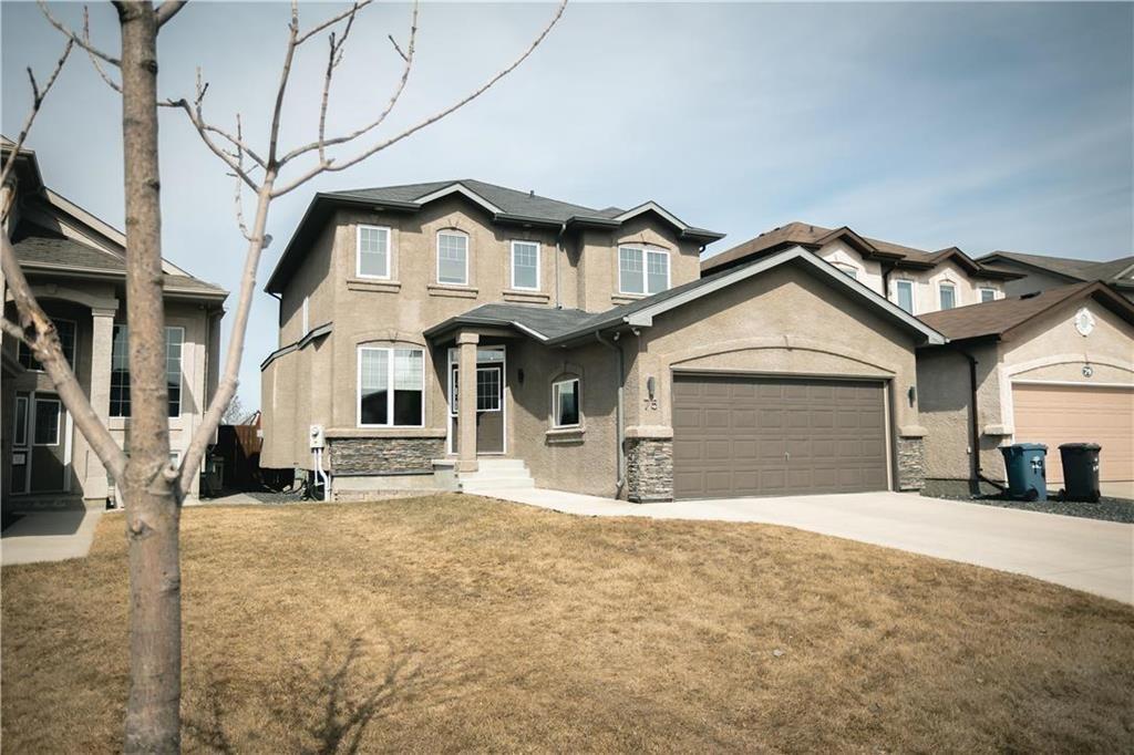 Main Photo: 75 Nordstrom Drive in Winnipeg: Bonavista Residential for sale (2J)  : MLS®# 202106708