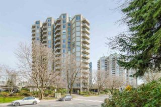 """Photo 1: 406 1135 QUAYSIDE Drive in New Westminster: Quay Condo for sale in """"ANCHOR POINT"""" : MLS®# R2445630"""