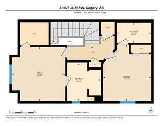 Photo 34: 2 1927 36 Street SW in Calgary: Killarney/Glengarry Row/Townhouse for sale : MLS®# A1146349