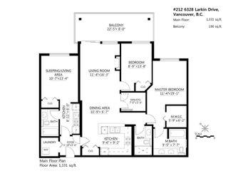 Photo 4: 212 6328 Larkin Drive in Vancouver: Condo for sale : MLS®# R2079448
