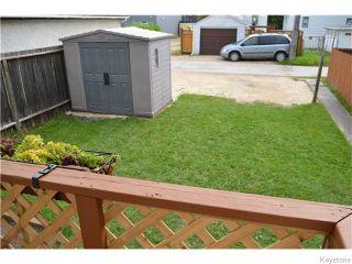 Photo 20: 315 Hampton Street in Winnipeg: St James Residential for sale (West Winnipeg)  : MLS®# 1620568