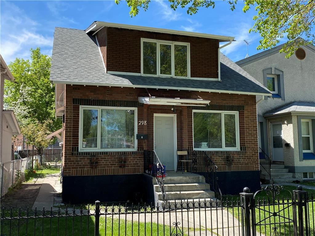Main Photo: 298 Pritchard Avenue in Winnipeg: North End Residential for sale (4A)  : MLS®# 202113021