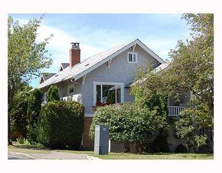 Photo 1: 3595 LAUREL Street in Vancouver: Cambie House for sale (Vancouver West)  : MLS®# V666216