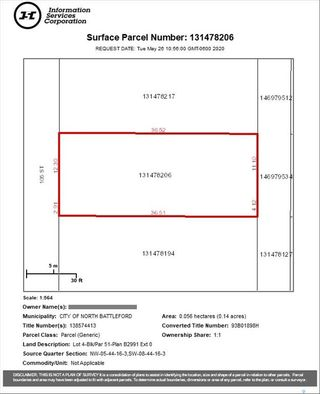 Photo 7: 832 105th Street in North Battleford: Lot/Land for sale : MLS®# SK847497