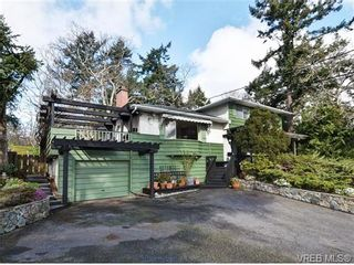 Photo 1: 3528 Plymouth Rd in VICTORIA: OB Henderson House for sale (Oak Bay)  : MLS®# 696453