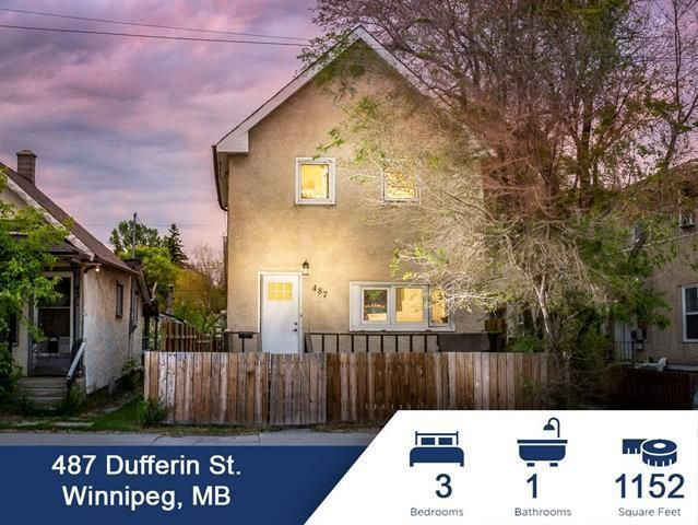 Main Photo: 487 Dufferin Avenue in Winnipeg: North End Residential for sale (4A)  : MLS®# 202124376