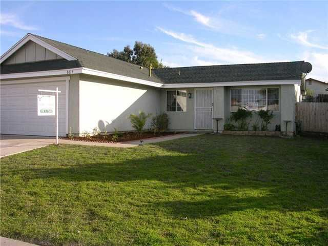 Main Photo: MIRA MESA House for sale : 3 bedrooms : 8019 Westmore Road in San Diego
