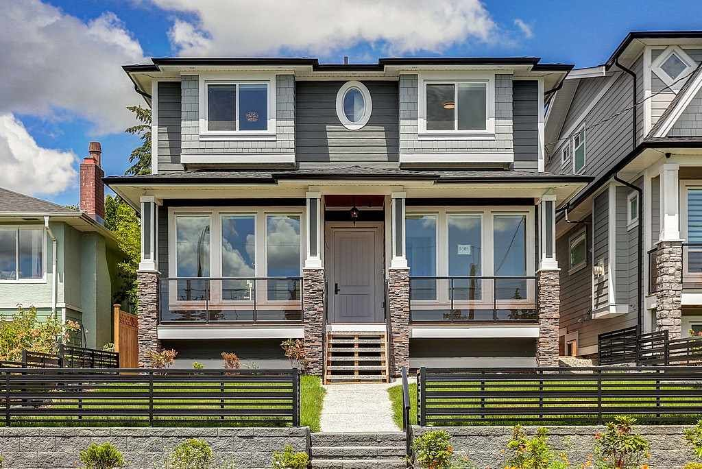 Main Photo: 5181 EWART STREET - LISTED BY SUTTON CENTRE REALTY in Burnaby: South Slope House for sale (Burnaby South)  : MLS®# R2081185