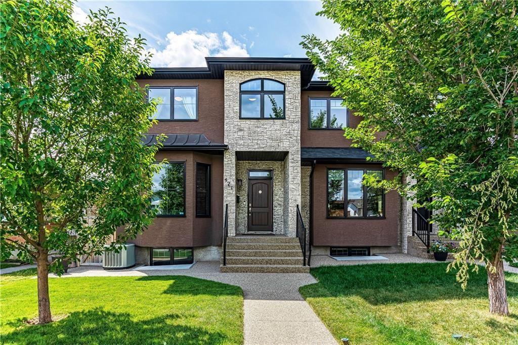 Main Photo: 421 54 Avenue SW in Calgary: Windsor Park Semi Detached for sale : MLS®# C4292476