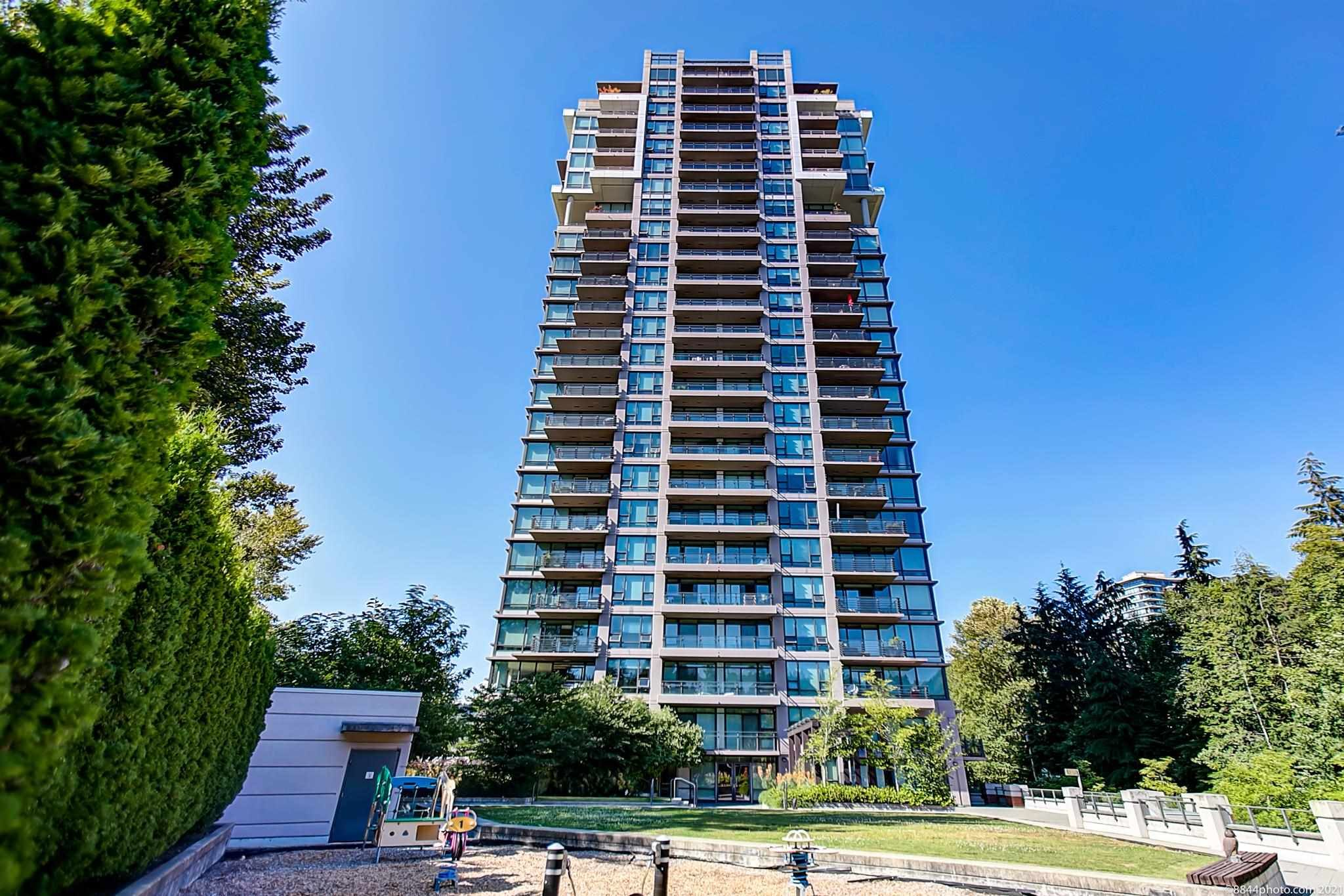 """Main Photo: 1902 301 CAPILANO Road in Port Moody: Port Moody Centre Condo for sale in """"RESIDENCES AT SUTERBROOK"""" : MLS®# R2608030"""