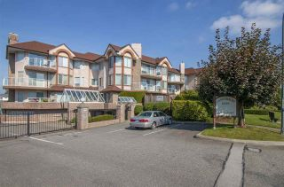 """Photo 1: 107 32669 GEORGE FERGUSON Way in Abbotsford: Abbotsford West Condo for sale in """"CANTERBURY GATE"""" : MLS®# R2310286"""