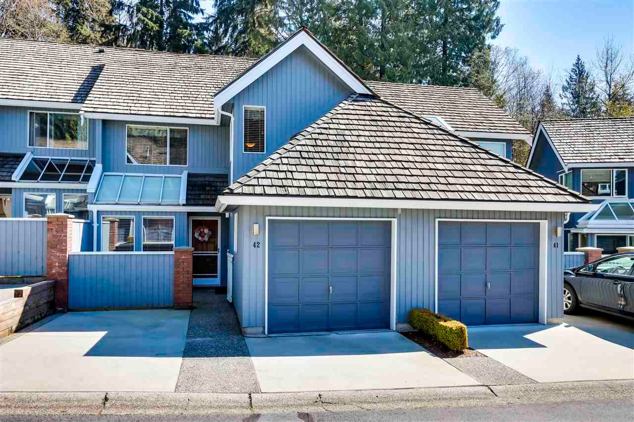 """Main Photo: 42 1925 INDIAN RIVER Crescent in North Vancouver: Indian River Townhouse for sale in """"Windermere"""" : MLS®# R2566686"""