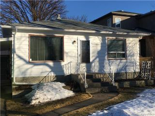 Photo 1: 139 Hindley Avenue in Winnipeg: St Vital Residential for sale (South East Winnipeg)  : MLS®# 1605574