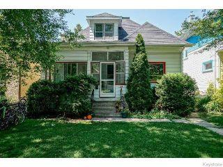Photo 1: 204 Aubrey Street in WINNIPEG: West End / Wolseley Residential for sale (West Winnipeg)  : MLS®# 1518711