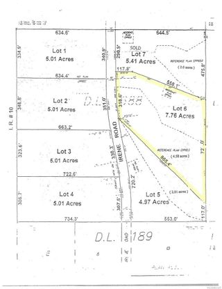 Photo 5: Lot 6 Irene Rd in : Isl Quadra Island Land for sale (Islands)  : MLS®# 863545