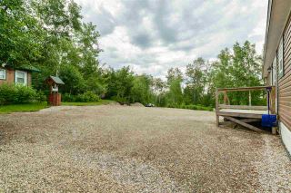 Photo 35: 4428 LAKESHORE Road: Rural Parkland County Manufactured Home for sale : MLS®# E4184645