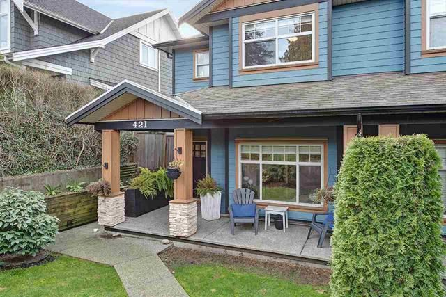Main Photo: 421 E 4th Street in North Vancouver: Lower Lonsdale 1/2 Duplex for sale : MLS®# R2566085