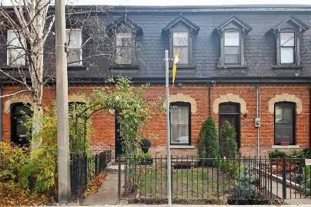 Main Photo: 123 Spruce St, Toronto, Ontario Ma52J4 in Toronto: Townhouse for sale (Cabbagetown-South St. James Town)  : MLS®# C2244576