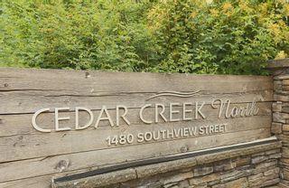 "Photo 2: 127 1480 SOUTHVIEW Street in Coquitlam: Burke Mountain Townhouse for sale in ""CEDAR CREEK"" : MLS®# R2599526"