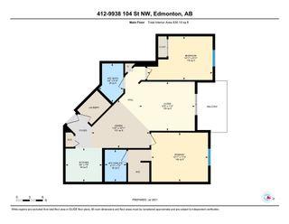 Photo 40: 412 9938 104 Street in Edmonton: Zone 12 Condo for sale : MLS®# E4255024