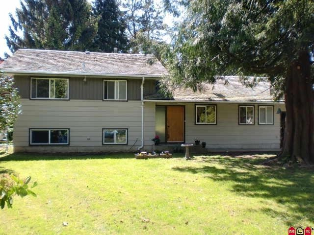 Main Photo: 45370 PARK DRIVE in Chilliwack: House