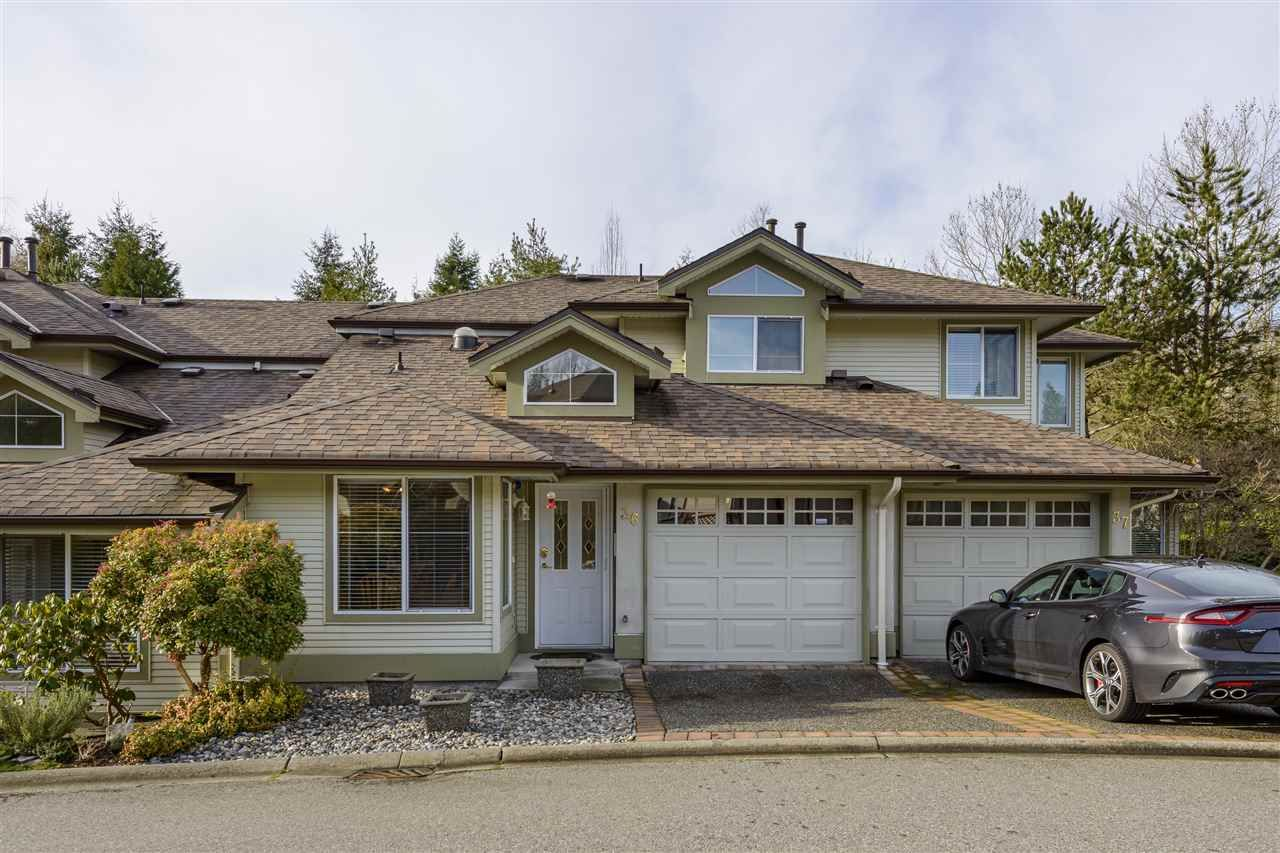 "Main Photo: 36 22740 116 Avenue in Maple Ridge: East Central Townhouse for sale in ""Fraser Glen"" : MLS®# R2527095"