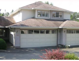"Photo 1: 26 22751 HANEY BB in Maple_Ridge: East Central Townhouse for sale in ""RIVERS EDGE"" (Maple Ridge)  : MLS®# V753752"
