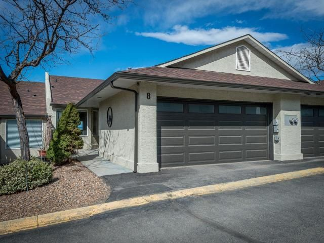 Main Photo: 8 1580 SPRINGHILL DRIVE in Kamloops: Sahali Townhouse for sale : MLS®# 161507