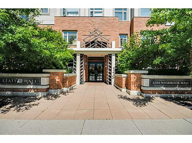 Main Photo: 219 2280 WESBROOK Mall in Vancouver: University VW Condo for sale (Vancouver West)  : MLS®# V1068936