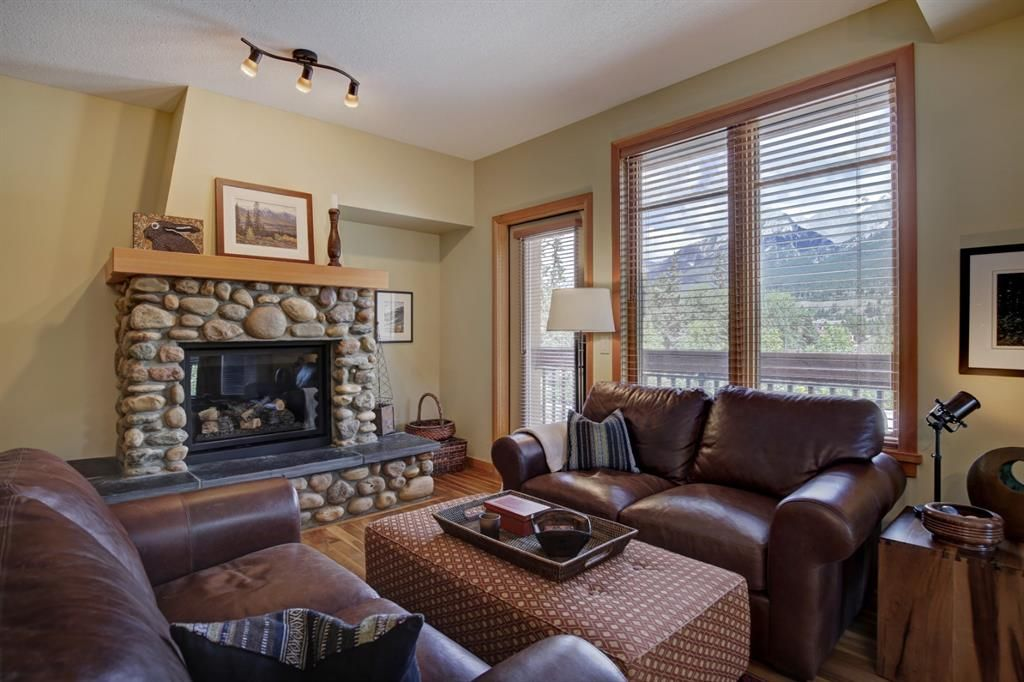 Main Photo: 201 505 Spring Creek Drive: Canmore Apartment for sale : MLS®# A1141968