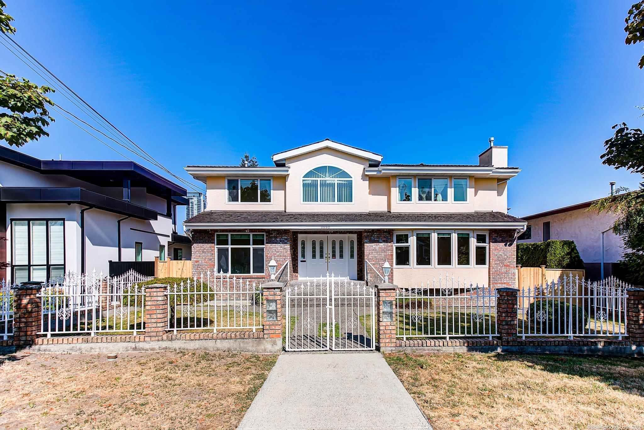 Main Photo: 6890 FREDERICK Avenue in Burnaby: Metrotown House for sale (Burnaby South)  : MLS®# R2604695
