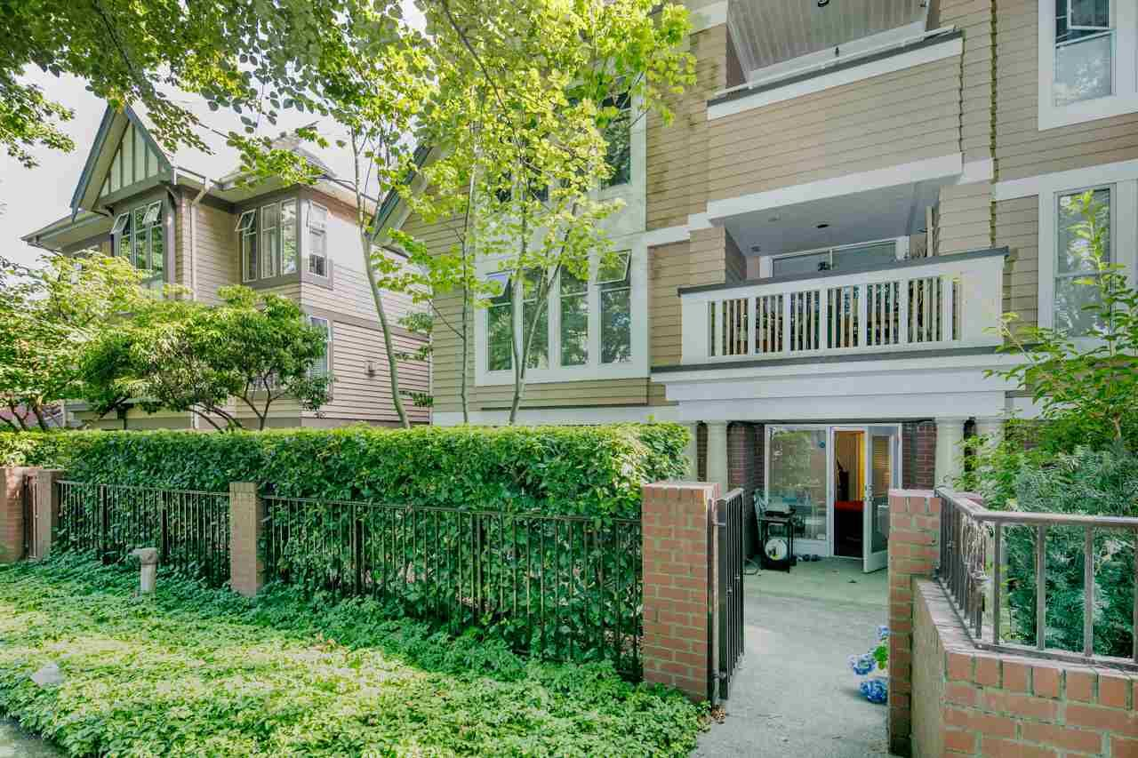 Photo 17: Photos: 109 628 W 13TH AVENUE in Vancouver: Fairview VW Condo for sale (Vancouver West)  : MLS®# R2205140