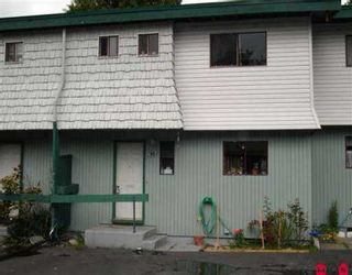 """Photo 1: 92 10842 152ND ST in Surrey: Bolivar Heights Townhouse for sale in """"WOODBRIDGE"""" (North Surrey)  : MLS®# F2612696"""