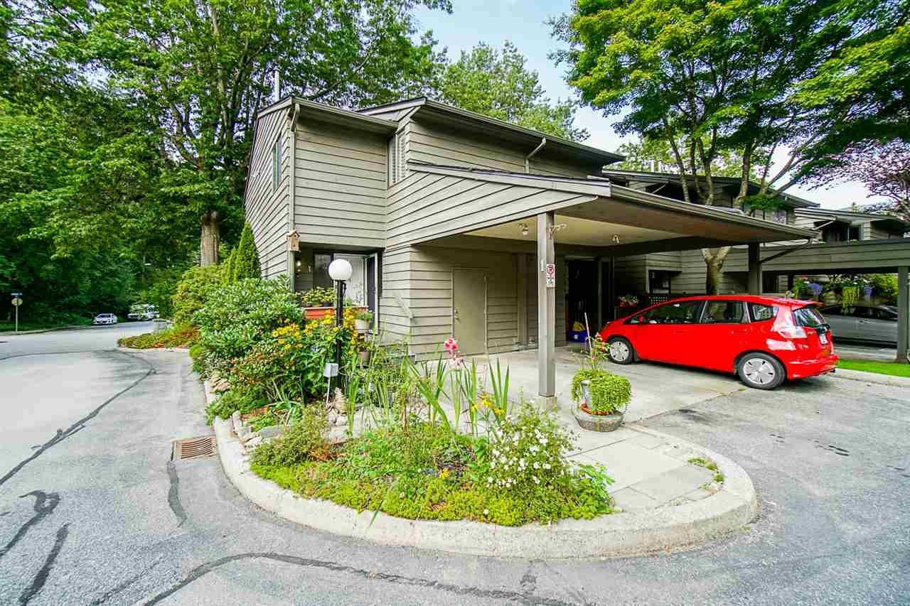 """Main Photo: 1 1960 RUFUS Drive in North Vancouver: Westlynn Townhouse for sale in """"Mountain Estates"""" : MLS®# R2487288"""