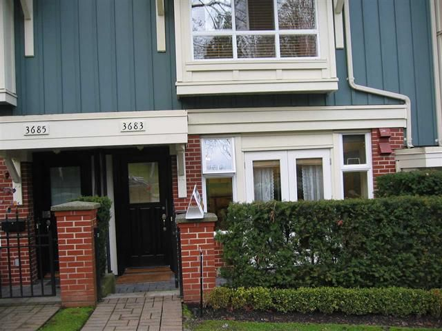 Photo 2: Photos: 3683 W 12TH AV in VANCOUVER: Kitsilano Townhouse for sale (Vancouver West)  : MLS®# R2026228
