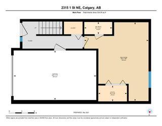 Photo 22: 2315 1 Street NE in Calgary: Tuxedo Park Row/Townhouse for sale : MLS®# A1086504