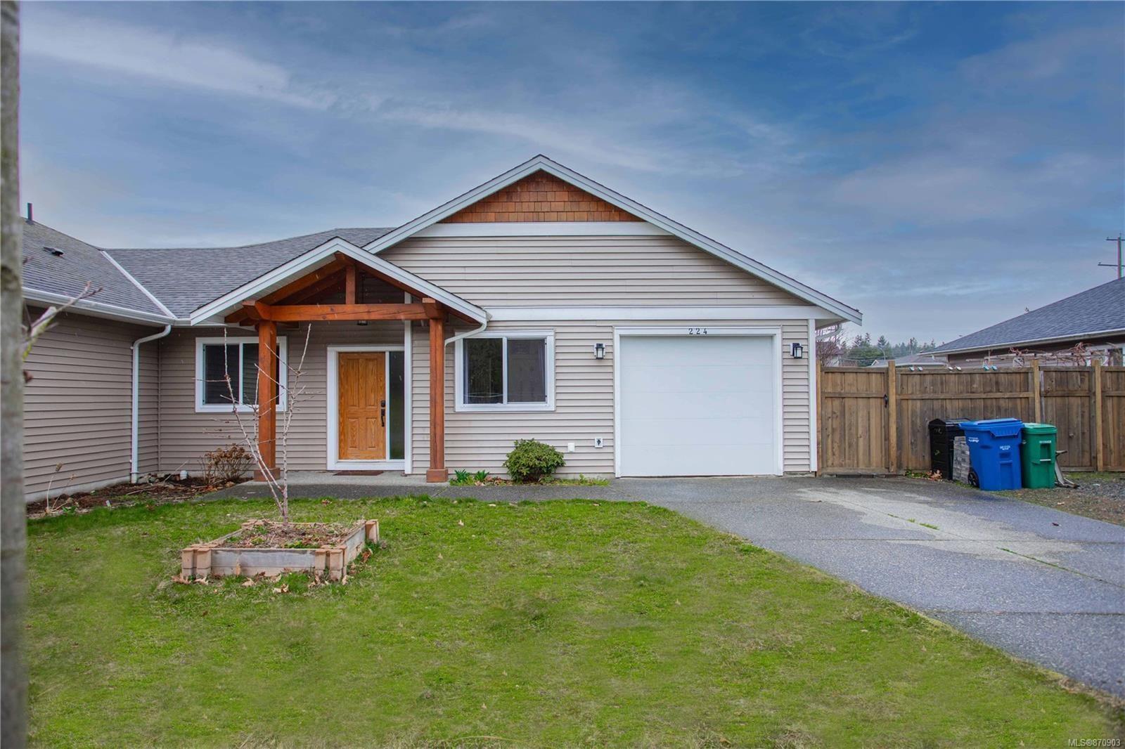 Main Photo: 224 Silver Valley Rd in : Na Central Nanaimo Half Duplex for sale (Nanaimo)  : MLS®# 870903