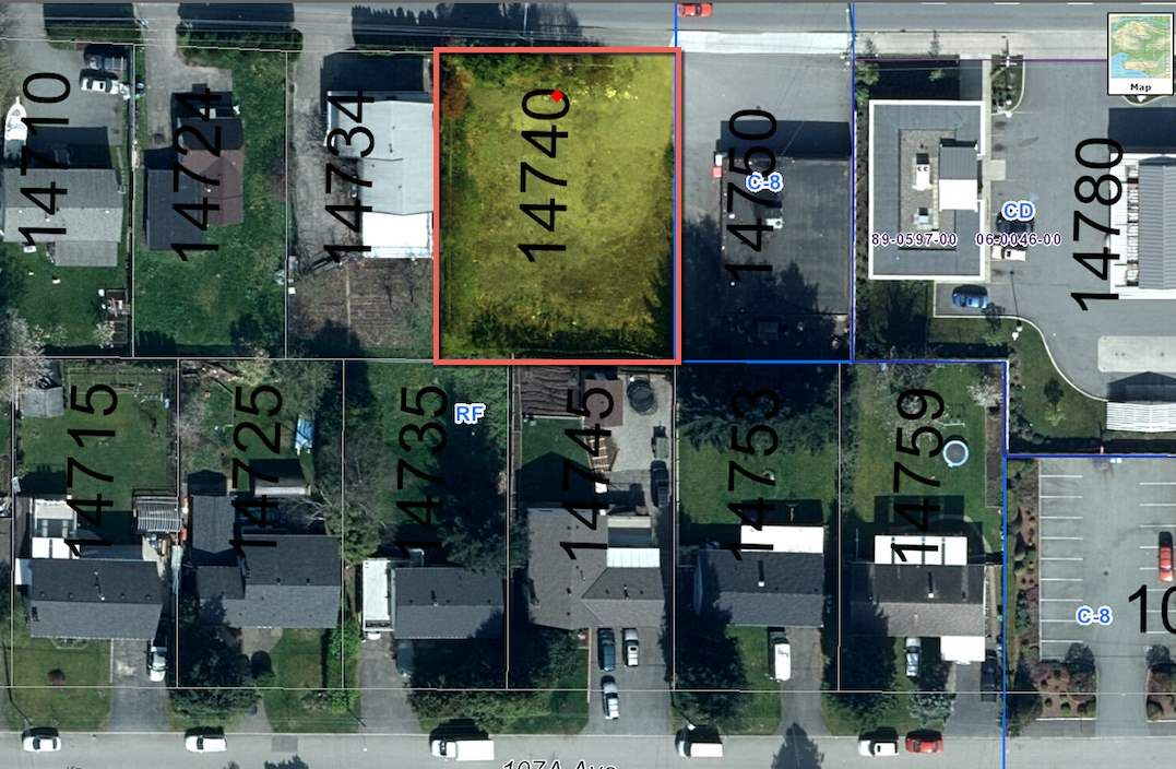 Main Photo: 14740 108 Avenue in Surrey: Bolivar Heights Land for sale (North Surrey)  : MLS®# R2045207