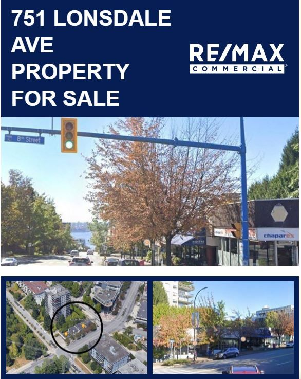 Main Photo: 751 Lonsdale Avenue in North Vancouver: Central Lonsdale Land Commercial for sale : MLS®# C8036484