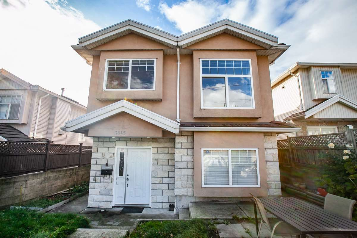 Main Photo: 7845 FRASER STREET in Vancouver: South Vancouver 1/2 Duplex for sale (Vancouver East)  : MLS®# R2320801