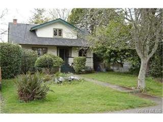 Photo 1: 1654 Hampshire Rd in VICTORIA: OB North Oak Bay House for sale (Oak Bay)  : MLS®# 463800